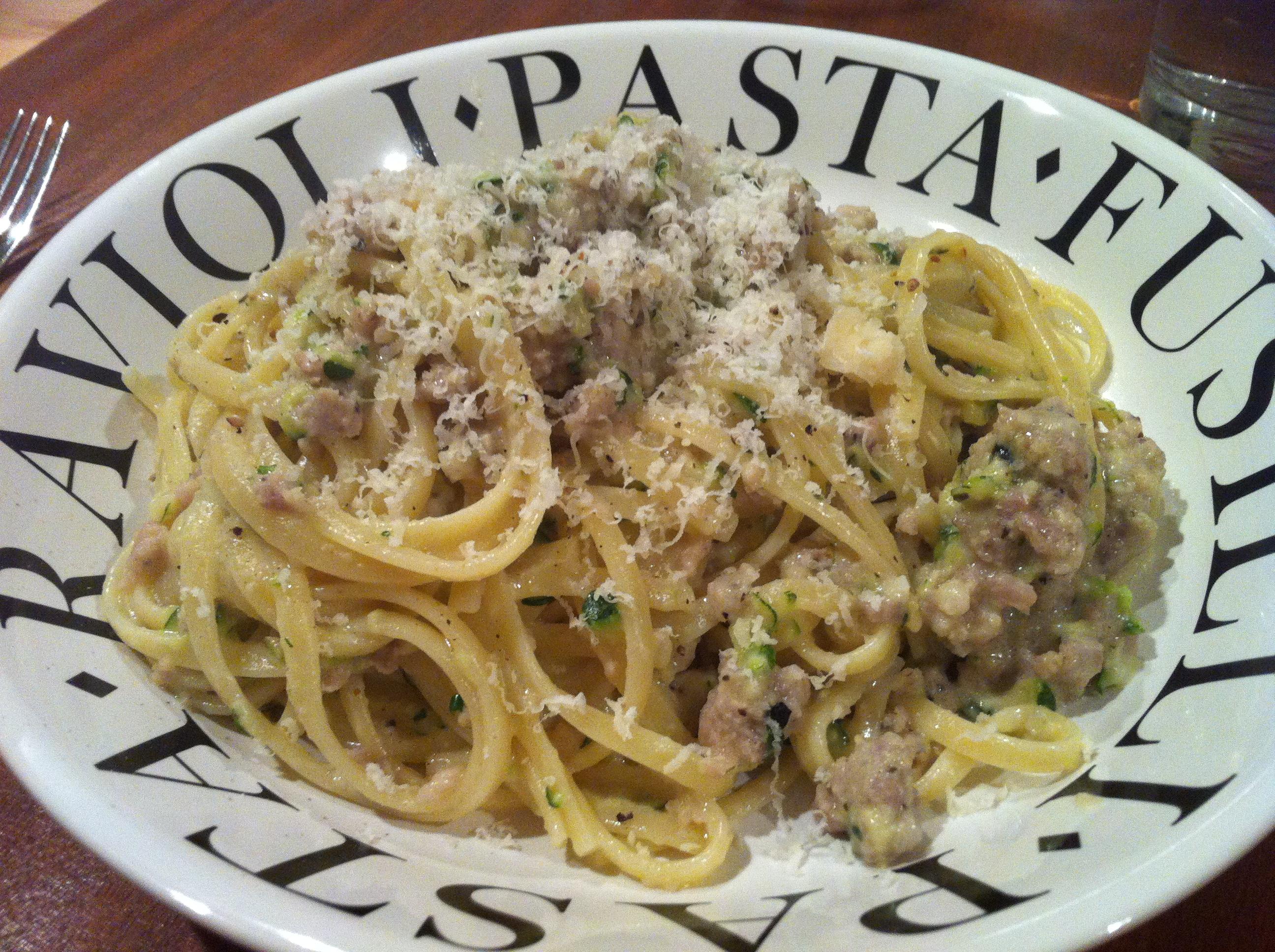 salsiccia pasta
